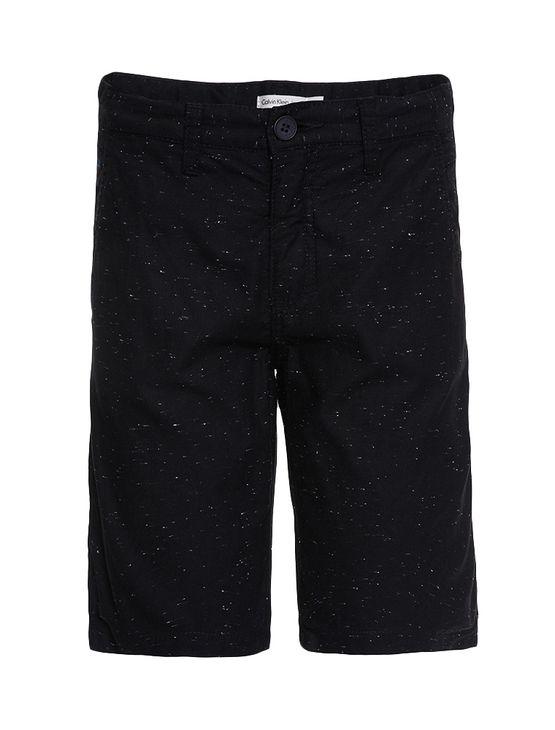 Bermuda-Color-Infantil-Calvin-Klein-Jeans-Preto
