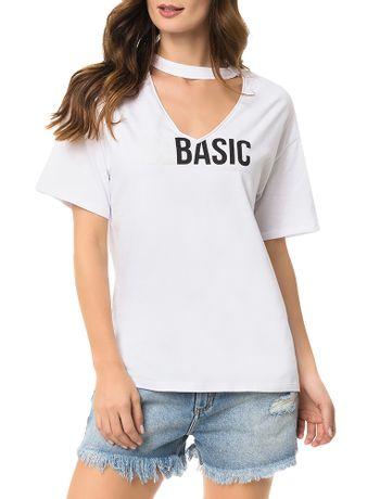 Blusa-Calvin-Klein-Jeans-Abertura-No-Decote-e-Estampa-Branco