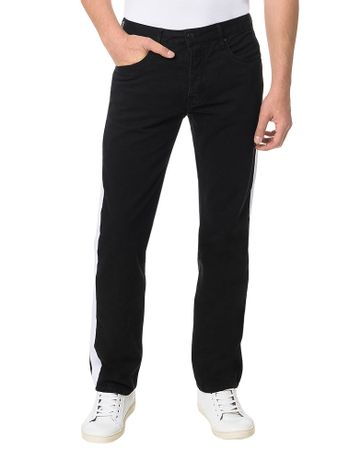 Calca-Color-Calvin-Klein-Jeans-Five-Pockets-Straight-Preto