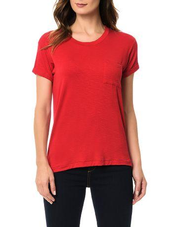 Blusa-Calvin-Klein-Bolso-Frontal-Vermelho
