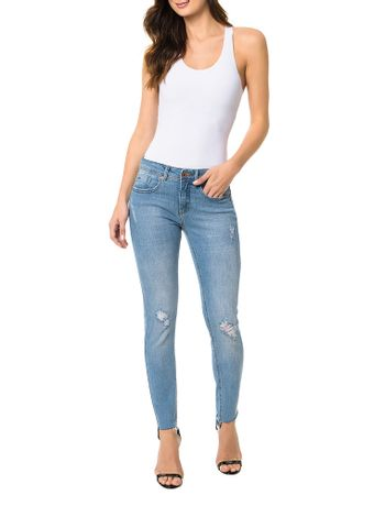 Calca-Calvin-Klein-Jeans-Five-Pockets-Jegging-Azul-Claro