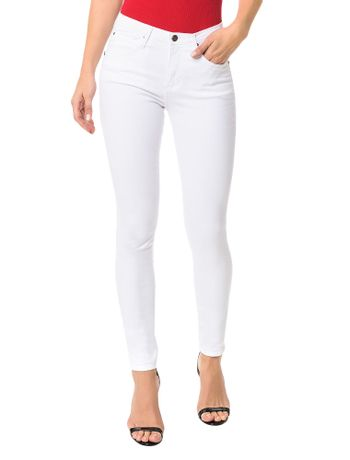 Calca-Color-Calvin-Klein-Jeans-Sculpted-Branca