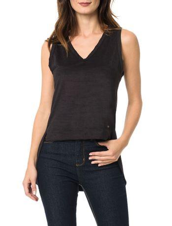 Blusa Calvin Klein Com Gola Alta Areia - Calvin Klein 9abbe9e2c2