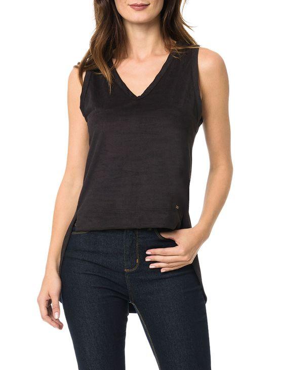 Blusa-Calvin-Klein-Jeans-Com-Recortes-Lateral-Descolada-Preto