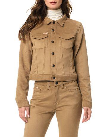 Jaqueta-Calvin-Klein-Jeans-Bolsos-Caqui-Claro 81c920dfa5