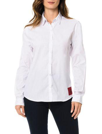 Camisa-Calvin-Klein-Jeans-Logo-Branco