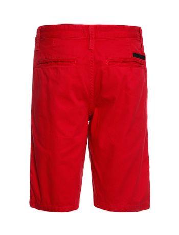 Bermuda-Color-Infantil-Calvin-Klein-Jeans-Estampa-Frente-Vermelho