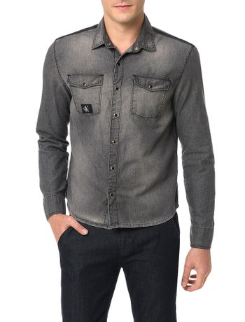 Camisa-Chumbo-Calvin-Klein-Jeans