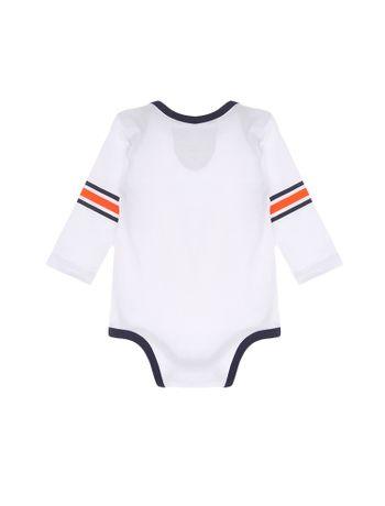 Body-Infantil-Calvin-Klein-Jeans-Listras-Nas-Mangas-Branco