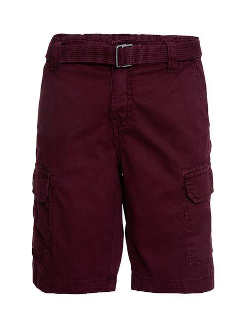 Bermuda Color Infantil Calvin Klein Jeans Bordô