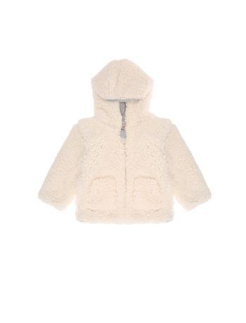 Casaco-Infantil-Calvin-Klein-Jeans-Pelos-Com-Capuz-Off-White