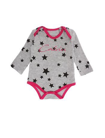 Body-Infantil-Calvin-Klein-Jeans-Estampa-Estrelas-Mescla