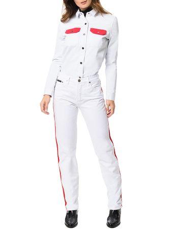 Camisa-Calvin-Klein-Jeans-Branco