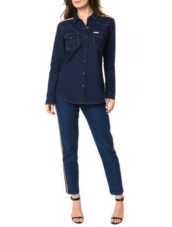 Camisa-Jeans-Marinho-Calvin-Klein-Jeans