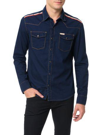 Camisa-Azul-Marinho-Calvin-Klein-Jeans
