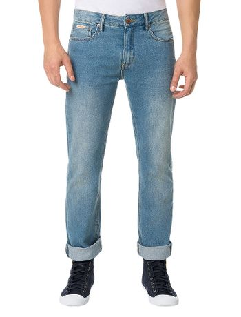 Calca-Calvin-Klein-Jeans-Five-Pockets-Straight-Azul-Claro