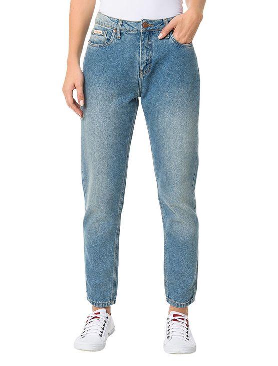 Calca-Calvin-Klein-Jeans-Five-Pockets-Mom-Azul-Claro