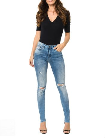 Calca-Calvin-Klein-Jeans-Five-Pockets-Jegging-High-Azul-Claro