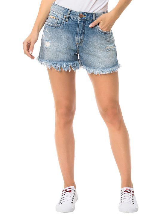 Shorts-Calvin-Klein-Jeans-Five-Pockets-Azul-Claro