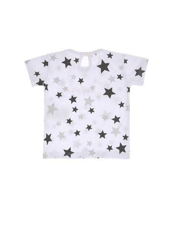 Blusa-Infantil-Calvin-Klein-Jeans-Estampa-Estrelas-Branco