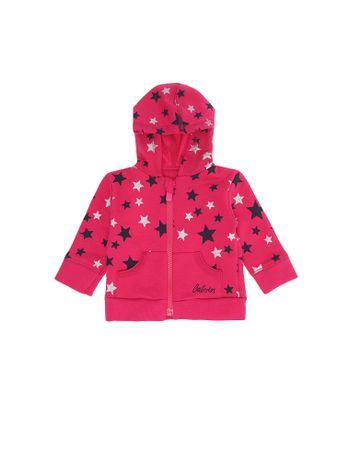 Casaco-Infantil-Calvin-Klein-Jeans-Estampa-Estrelas-Rosa-Escuro