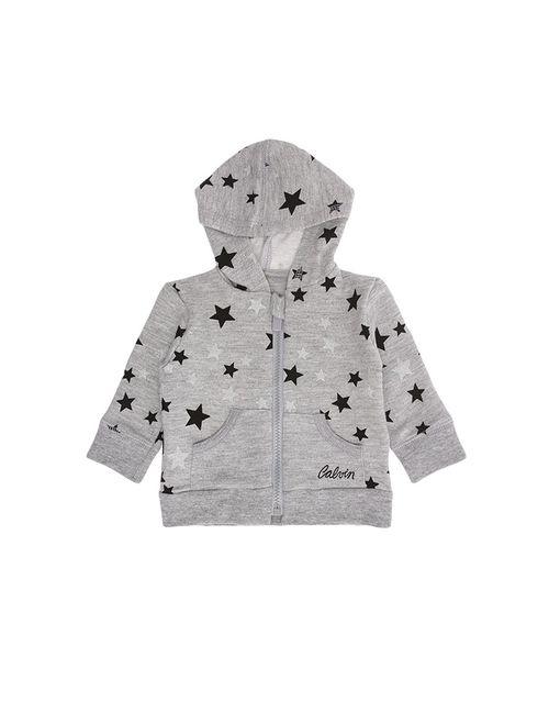 Casaco Infantil Calvin Klein Jeans Estampa Estrelas Mescla