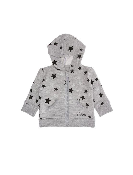 cee0eb5416860 Casaco-Infantil-Calvin-Klein-Jeans-Estampa-Estrelas-Mescla. Loading zoom