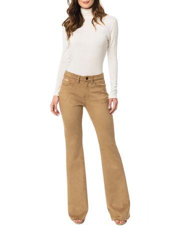 Calca-Calvin-Klein-Jeans-Aveludada-Caqui-Claro