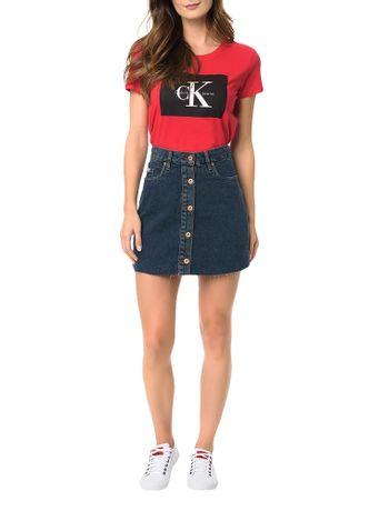 Saia-Calvin-Klein-Jeans-Five-Pockets-Marinho