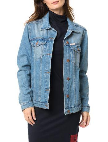 Jaqueta-Jeans-Trucker-Calvin-Klein-Jeans-Azul-Claro