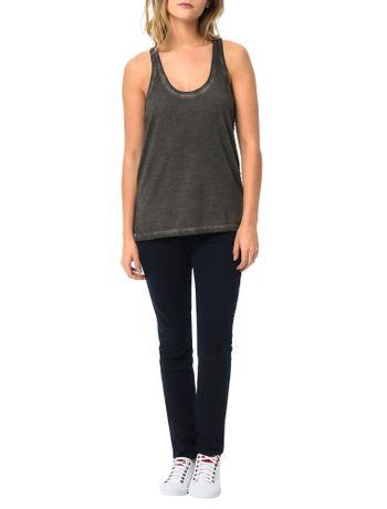 Blusa-Calvin-Klein-Jeans-Com-Lavanderia-Aplique-Lateral-Chumbo
