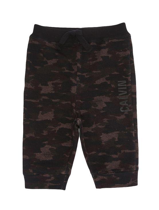 Calca-Infantil-Calvin-Klein-Jeans-Estampa-Camuflada-Militar