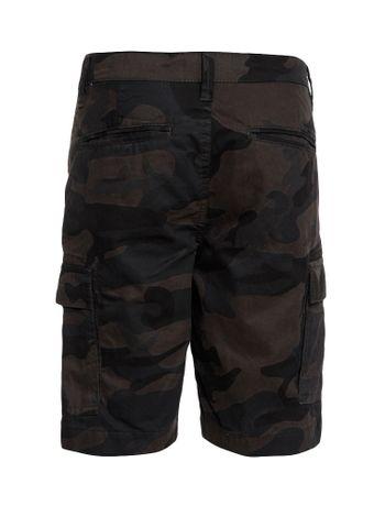 Bermuda-Color-Infantil-Calvin-Klein-Jeans-Camuflada-Militar