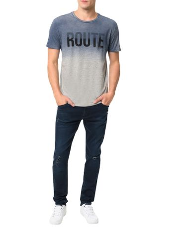 Camiseta-Calvin-Klein-Jeans-Estampa-Route-Mescla