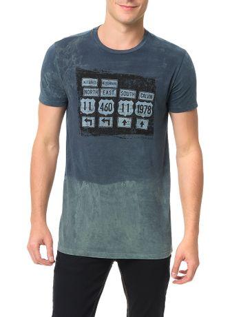 Camiseta-Calvin-Klein-Jeans-Estampa-Placas-Surtom-Marinho