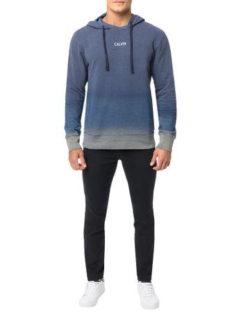 Casaco-Calvin-Klein-Jeans-Capuz-Barra-2-Cores-Marinho