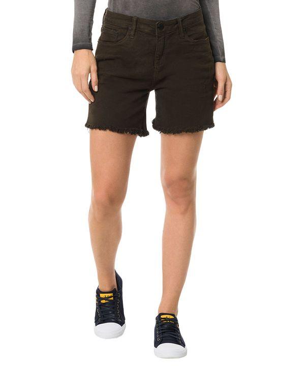 Shorts-Color-Calvin-Klein-Jeans-Five-Pockets-Preto