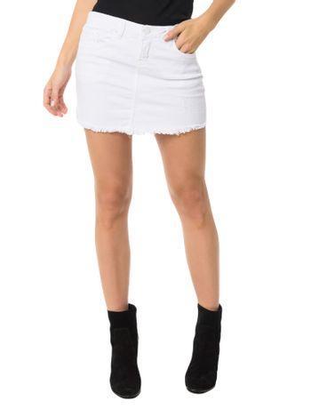 Saia-Color-Calvin-Klein-Jeans-Five-Pockets-Branco