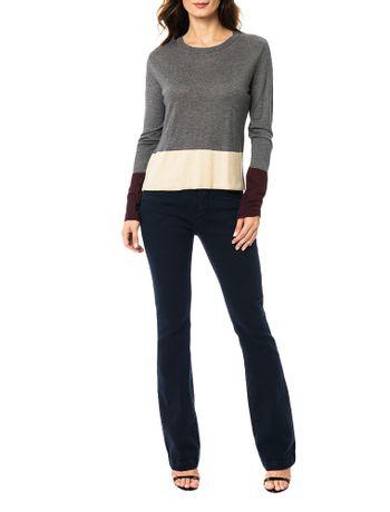 Blusa-Calvin-Klein-Tricolor-Cinza-Medio