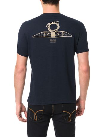 Camiseta-Calvin-Klein-Jeans-Estampa-Hoop-Nation-Marinho