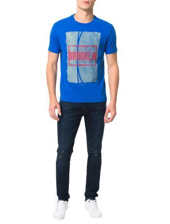 Camiseta-Calvin-Klein-Jeans-Streetball-Brooklin-Azul-Carbono