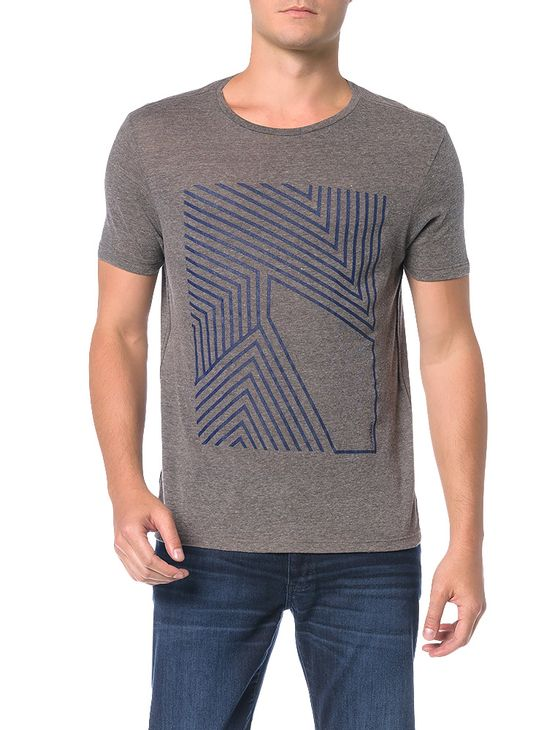 Camiseta-Regular-Calvin-Klein-Gaze-Mescla