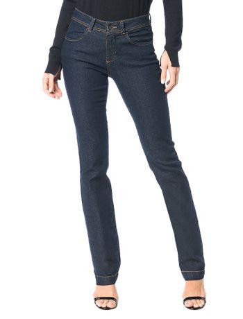 Calca-Jeans-Calvin-Klein-Straight-High-Basica-Marinho
