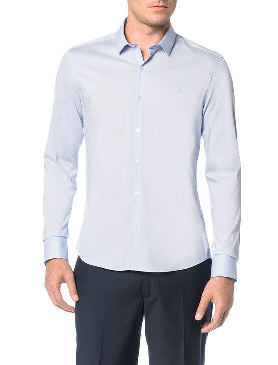 Camisa-Slim-Calvin-Klein-Cannes-Toque-Suave-Azul-Bebe