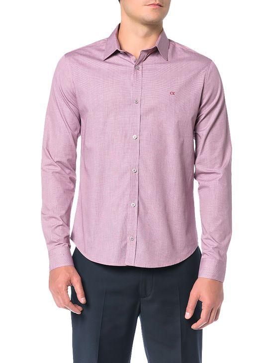 Camisa-Slim-Calvin-Klein-Militar-Punho-Chanfrado-Bordo-Claro