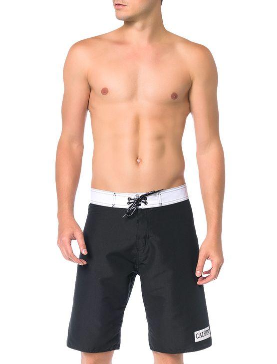 Bermuda-D-Agua-Calvin-Klein-Swimwear-Basica-Calvin-Preto