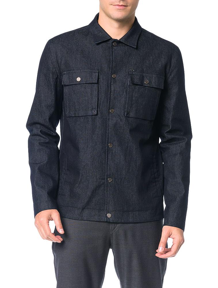 9306786a1ccb4 Jaqueta Jeans Calvin Klein Black Preto - Calvin Klein
