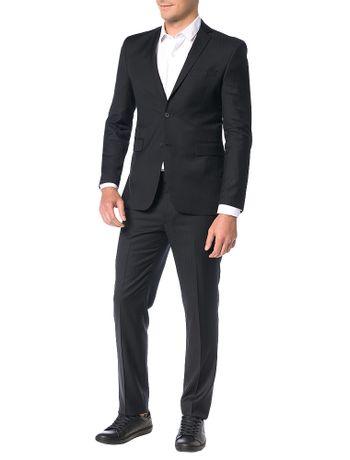 Costume-Ultra-Slim-Calvin-Klein-Listra-Textura-Preto