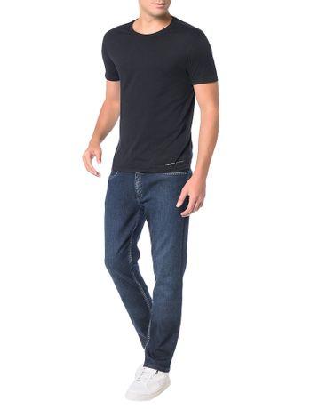 Calca-Jeans-Calvin-Klein-Slim-Straight-Marinho
