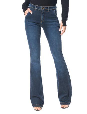 Calca-Jeans-Calvin-Klein-Slim-Flare-Marinho